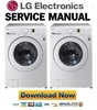 Thumbnail LG WM2140C WM2140CW Service Manual & Repair Guide