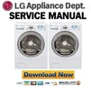 Thumbnail LG WM3988H WM3988HWA Service Manual & Repair Guide