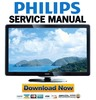 Thumbnail Philips 32PFL4606H Service Manual & Repair Guide