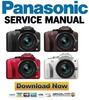 Thumbnail Panasonic Lumix DMC-G3 G3K G3W Service Manual & Repair Guide