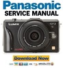 Thumbnail Panasonic Lumix DMC-GF2 Service Manual & Repair Guide