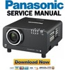 Thumbnail Panasonic PT-D10000 + DW10000 Manual de Servicio