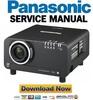 Thumbnail Panasonic PT-D10000 + DW10000 Service Manual & Repair Guide