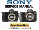 Thumbnail Sony Alpha DSLR A850 + A900 Service Manual & Repair Guide