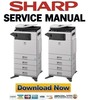 Thumbnail Sharp DX-C310 C311 C400 C401 Service Manual + Parts List