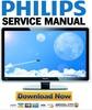 Thumbnail Philips 32PFL9613D + 32PFL9613H Service Manual & Repair Guide