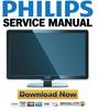 Thumbnail Philips 37PFL7603 Service Manual & Repair Guide