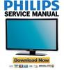 Thumbnail Philips 37PFL8404H Service Manual & Repair Guide