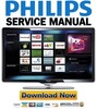 Thumbnail Philips 40PFL8664H Service Manual & Repair Guide