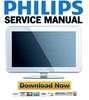 Thumbnail Philips 42PFL9903H Service Manual & Repair Guide