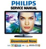 Thumbnail Philips 46PFL8605 LED LCD TV Service Manual & Repair Guide