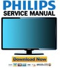 Thumbnail Philips 47PFL7404H Service Manual & Repair Guide
