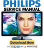 Thumbnail Philips 52PFL8605K Service Manual & Repair Guide