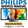 Thumbnail Philips 58PFL9955H Service Manual & Repair Guide
