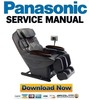 Thumbnail Panasonic EP30002 Service Manual & Repair Guide