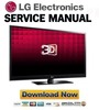 Thumbnail LG 50PZ550-UA Service Manual & Repair Guide