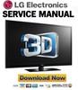 Thumbnail LG 60PZ550 + 60PZ540-UA Service Manual & Repair Guide