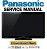 Thumbnail Panasonic TC-L42U30 Service Manual & Repair Guide