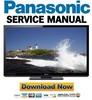 Thumbnail Panasonic TC-P60GT30 Service Manual & Repair Guide