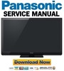 Thumbnail Panasonic TC-P65ST30 Service Manual & Repair Guide