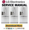 Thumbnail LG LFX21976ST Service Manual & Repair Guide