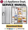 Thumbnail LG LSC23924ST Service Manual & Repair Guide