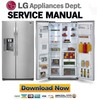 Thumbnail LG LSC24971ST Service Manual & Repair Guide