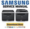 Thumbnail Samsung CLX-3185 3185N 3185W 3185FN 3185FW Service Manual & Repair Guide