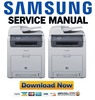 Thumbnail Samsung CLX-6220FX + 6250FX Service Manual & Repair Guide