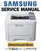 Thumbnail Samsung ML-3750ND Service Manual & Repair Guide