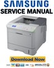 Thumbnail Samsung ML-5510 6510 5512 6512 Series Service Manual & Repair Guide