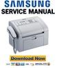 Thumbnail Samsung SF-760P 761 761P Service Manual & Repair Guide