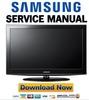 Thumbnail Samsung LN32D403E2D Service Manual & Repair Guide