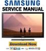 Thumbnail Samsung LN32D550K1F LN37D550K1F LN40D550K1F LN46D550K1F LN40D551K8F Service Manual