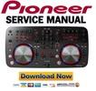 Thumbnail Pioneer DDJ-ERGO-V Service Manual & Repair Guide