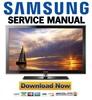 Thumbnail Samsung LN46D630M3F LN40D630M3F Service Manual & Repair Guide
