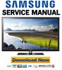 Thumbnail Samsung UN32D5550 UN40D5550 Service Manual and Repair Guide