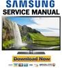 Thumbnail Samsung UN40D6420UF UN46D6420UF UN55D6420UF Service Manual & Repair Guide