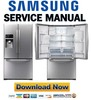 Thumbnail Samsung RFG297HDRS RFG297HDPN Service Manual & Repair Guide