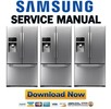 Thumbnail Samsung RFG29THDRS Service Manual & Repair Guide