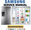 Thumbnail Samsung RSG307AA RSG307AARS Service Manual & Repair Guide