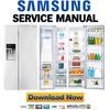 Thumbnail Samsung RSG307AAWP Service Manual & Repair Guide