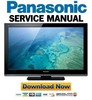 Thumbnail Panasonic TX-L32X3B Service Manual & Repair Guide