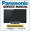 Thumbnail Panasonic TX-P50GT30 Series Service Manual & Repair Guide