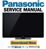 Thumbnail Panasonic TX-P50VT30 (Series) Service Manual & Repair Guide