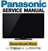 Thumbnail Panasonic TX-P55VT30 P55TV30E P55VT30J Service Manual