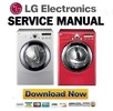 Thumbnail LG DLE2301W DLG2302W DLE2301R DLG2302R Service Manual & Repair Guide
