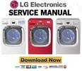 Thumbnail LG DLEX2801W DLEX2801R DLEX2801L Service Manual & Repair Guide