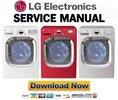 Thumbnail LG DLEX3001W DLEX3001R DLEX3001P Service Manual & Repair Guide