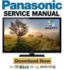 Thumbnail Panasonic TC-L55ET5 Service Manual & Repair Guide